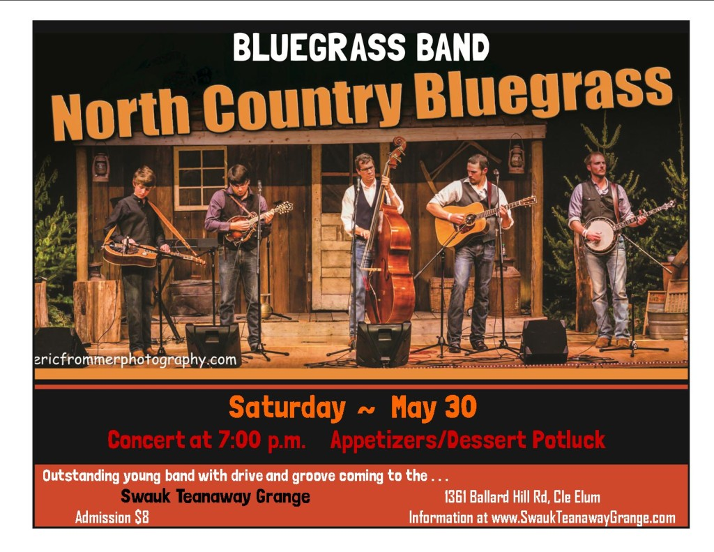 Bluegrass Concert @ Swauk-Teanaway Grange Hall | Cle Elum | Washington | United States