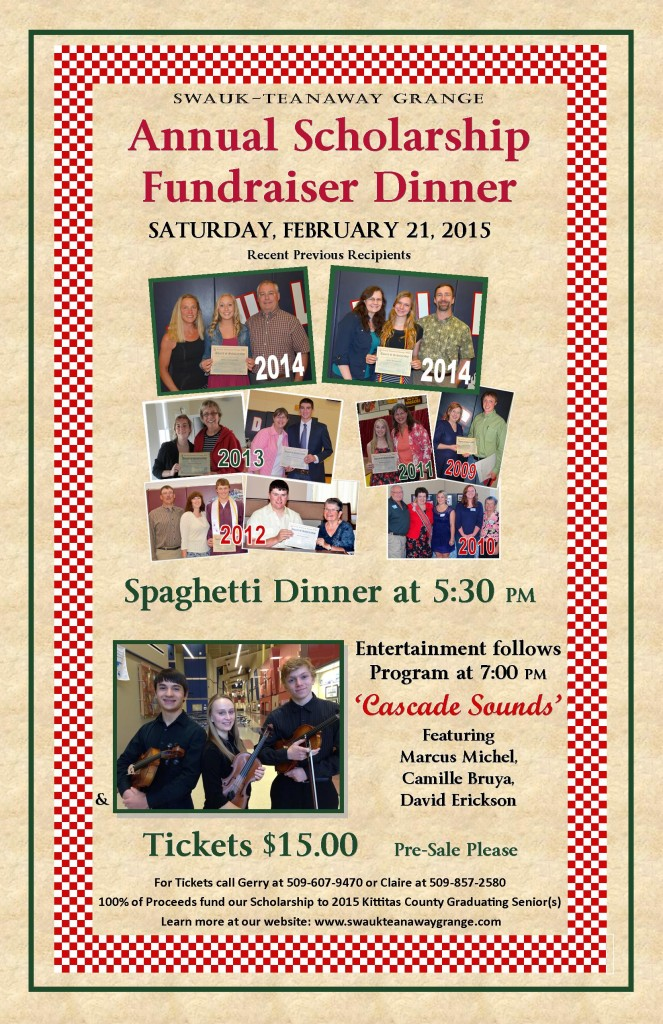 2015 SCHOLARSHIP DINNER POSTER 11 BY 17 FINAL