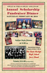 Scholarship Fund Raiser Dinner 2016 @ Swauk Teanaway Grange | Cle Elum | Washington | United States