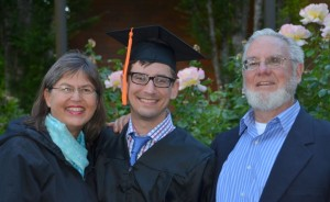 Our son Adam graduated from Oregon State University in June
