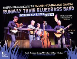 CANCELED   Bluegrass Concert at the Grange @ Swauk Teanaway Grange | Cle Elum | Washington | United States